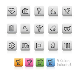 Medical Icons / The vector includes 5 colors in different layers