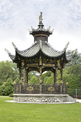 Chinese pavilion, Brussels, Belgium