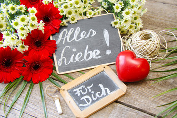 Alles Liebe für Dich!