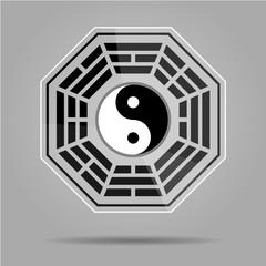 Bagua Yin Yang symbol.