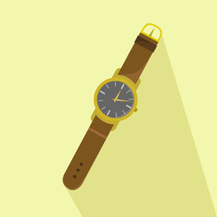 Wristlet watch icon