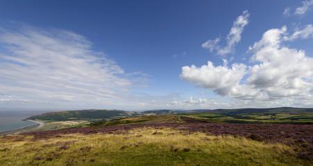 Exmoor panorama