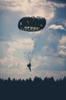 Parachutist in the war - 72450592