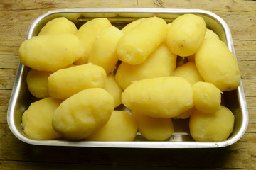 Boiled potatoes Patate lesse Papas hervidas Expo Milano 2015