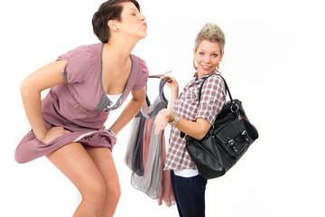 zusammen shoppen gehen
