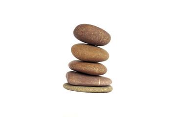 Zen stones balance concept - Stock Image