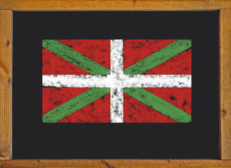 The flag of the autonomous community of the Basque Country