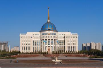 Presidential palace Ak-Orda in Astana. Kazakhstan
