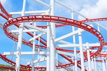 Segment of roller coaster