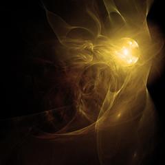 Licht im Weltraum