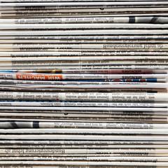 Textur aus Zeitungen