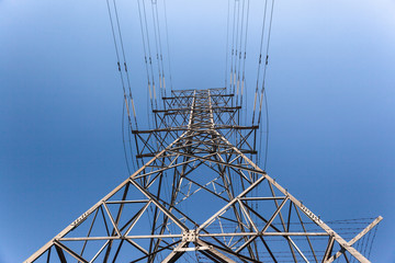 Electrical Power Lines Tower