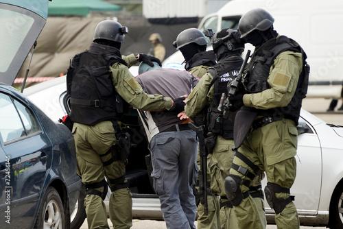 Poster aresztowanie