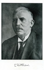 Ernest Rutherford, New Zealand-born British physicist