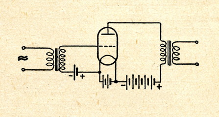 Amplifier with triode