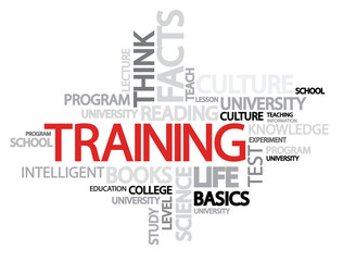 Training Word Cloud Concept with great terms