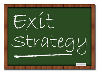 Exit Strategy Classroom Board