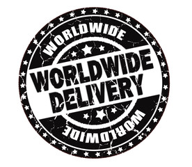 worldwide delivery stamp