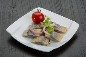 Sliced herring