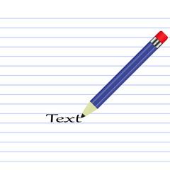 карандаш листок( pencil)