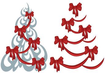 xmas tree decorative design