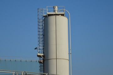 Silo calce industriale