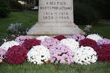 hommage aux morts