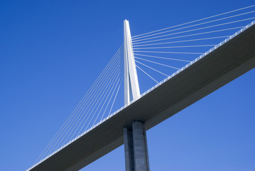Pylon of the cable-stayed bridge
