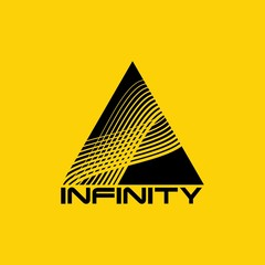 Abstract infinity logo design template. Infinite shape.