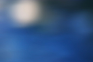abstract cold blue background with motion blur