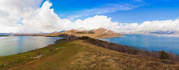 lake Sevan spring day