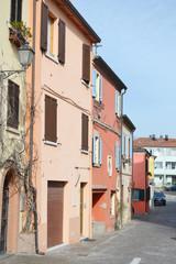 Street in Rimini.