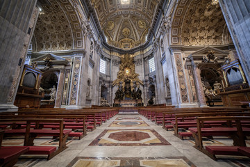 Cattedral of St.Peter in St.Peter's Basilica, Vatican City