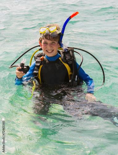 obraz lub plakat Junior Scuba Diver