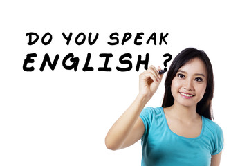 Learning language - English