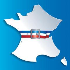 Carte France et ceinture-1