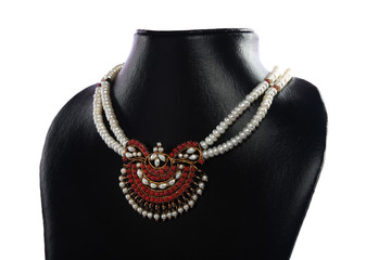 Indian Pearl Necklace