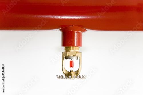 Leinwanddruck Bild Sprinkleranlage