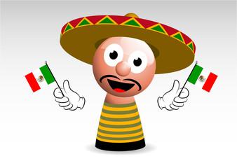stereotipo messicano, messicano, messico, personaggio