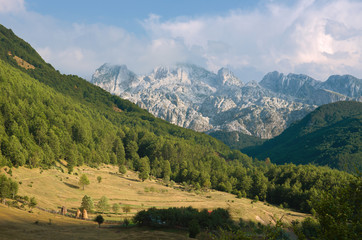 Albanian Alps Of Kelmend, Albania