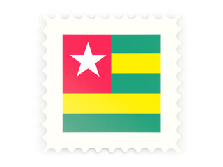 Postage stamp icon of togo