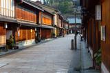 Fototapety Higashi Chaya District in Kanazawa, Japan