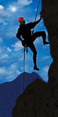 ag5 AlpinistGraphic - climber 2 in the alps - helmet - g2385