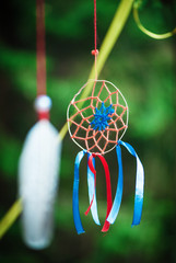 Beautiful handmade dreamcatcher