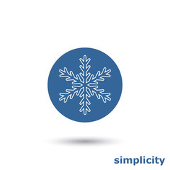 simple snowflake