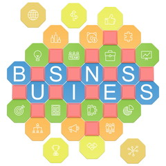 Vector Business Puzzles
