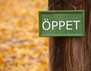 Öppet