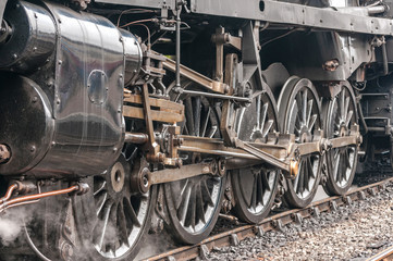 Steam Train Drive Wheels