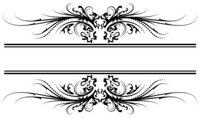 Floral frame 17