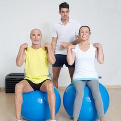 Training mit Senioren